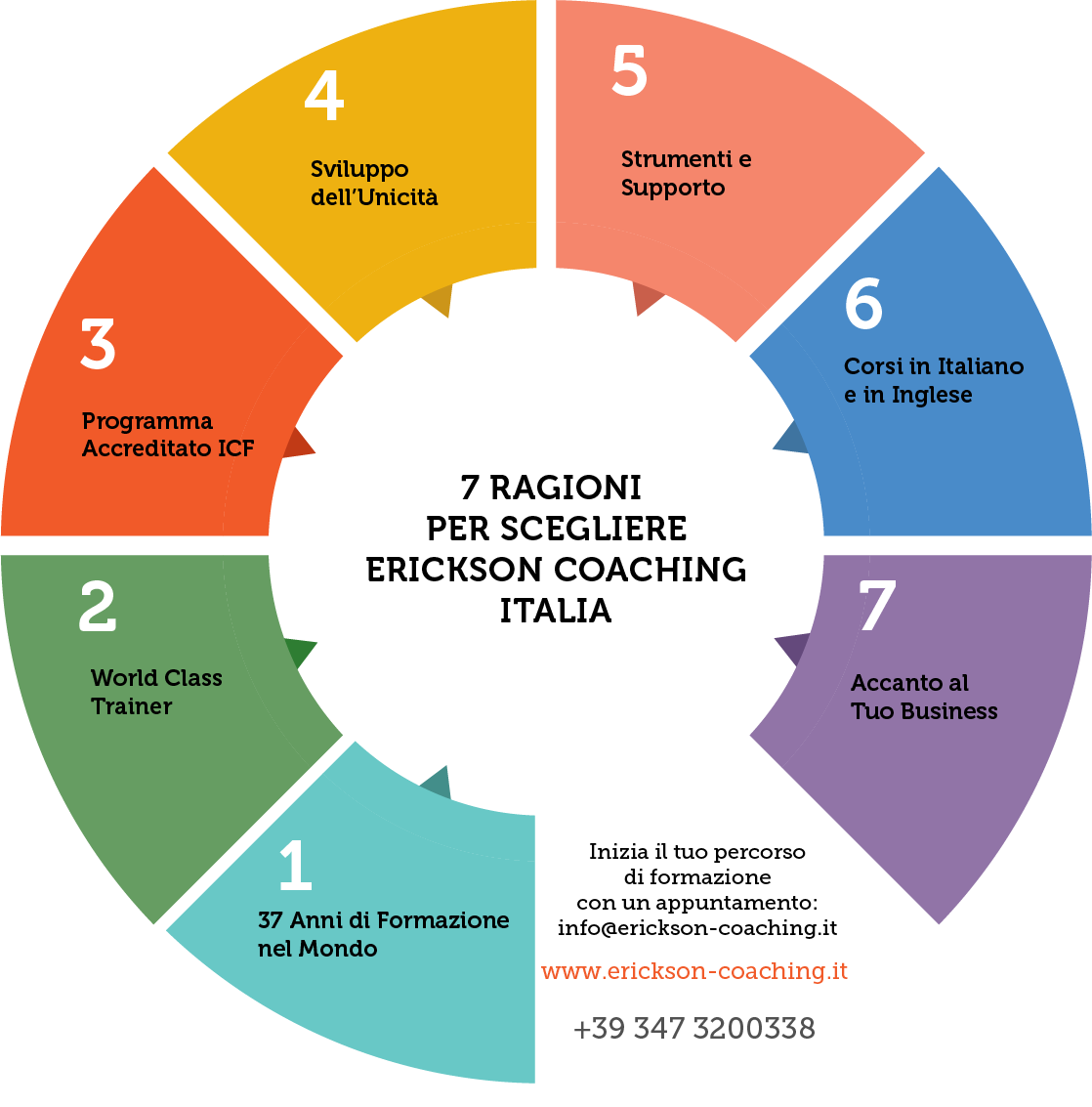 Copia di 7 Ragioni To Choose Erickson Infographic 1